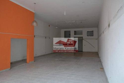 salão à venda, 200 m² - sl0044
