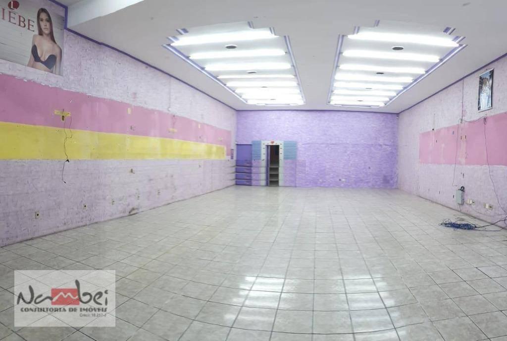 salão à venda, 302 m² por r$ 1.400.000,00 - vila carmosina - são paulo/sp - sl0028