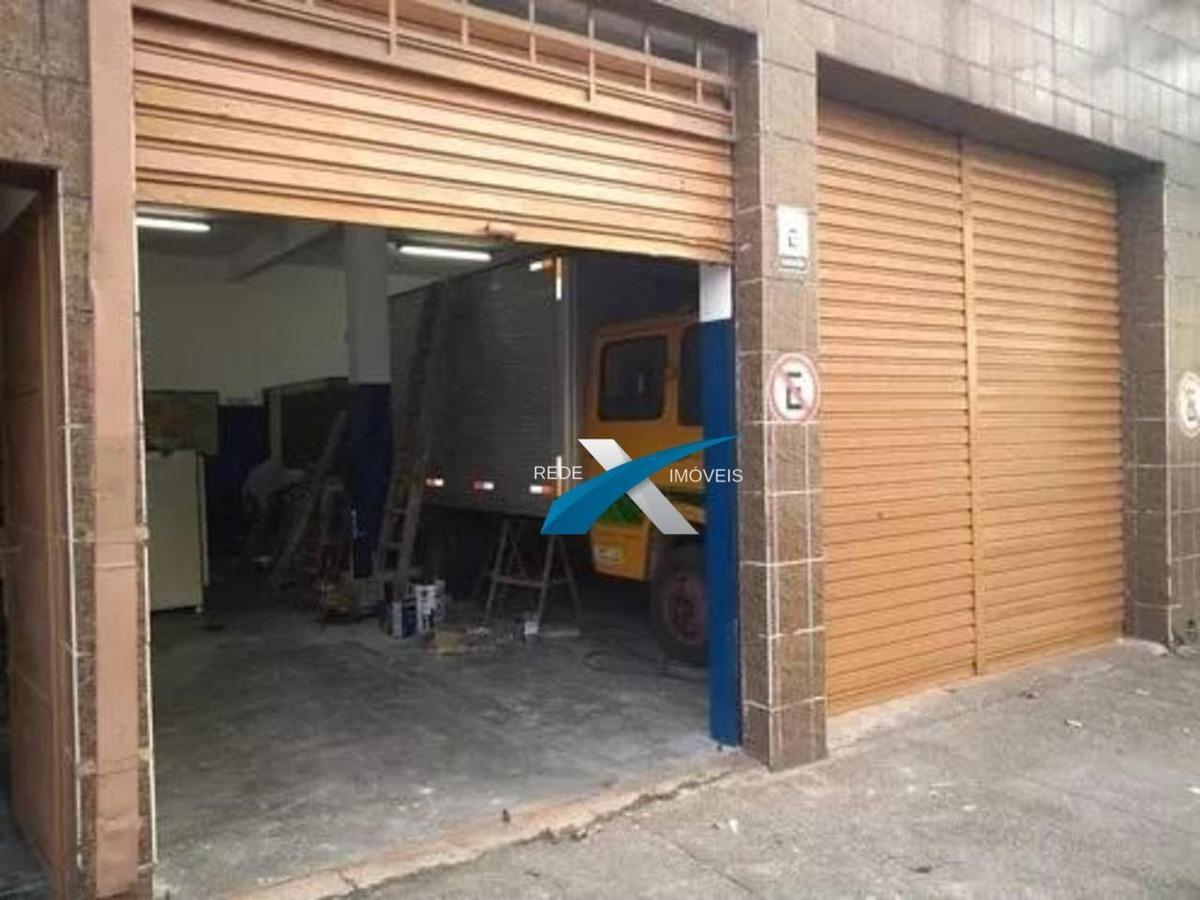 salão à venda, 360 m² por r$ 795.000 - mooca - são paulo/sp - sl0008