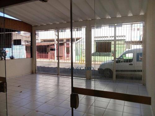 salão à venda, 65 m² por r$ 1.700,00 - vila barros - guarulhos/sp - sl0711