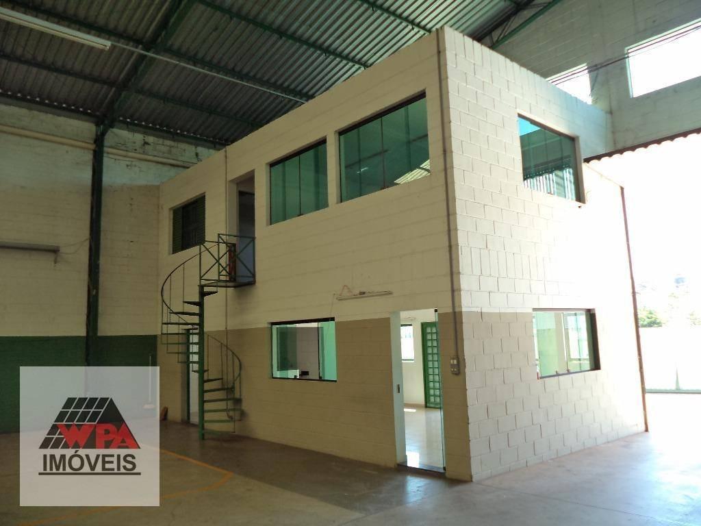 salão à venda, 740 m² por r$ 1.400.000,00 - distrito industrial abdo najar - americana/sp - sl0228