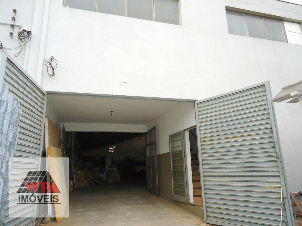 salão à venda, 900 m² por r$ 1.300.000,00 - jardim pérola - santa bárbara d'oeste/sp - sl0104