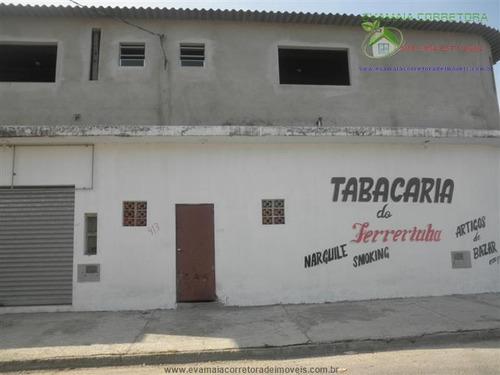 salões comerciais à venda  em itanhaem/sp - compre o seu salões comerciais aqui! - 1286081