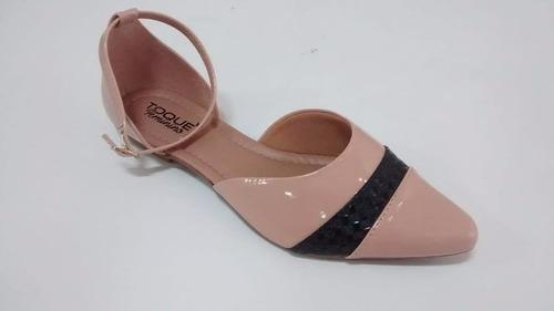 salomeh sandália sapatilha bico fino salomé rasteira