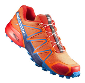 salomon speedcross 4 gtx blue orange 900