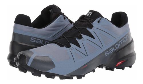 salomon speedcross 5 piedra de pedernal /negro /tinta india