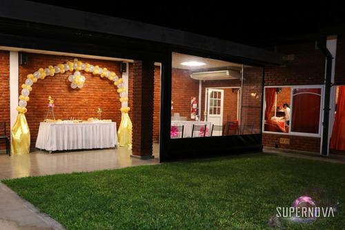 salón de eventos - zona oeste - 15, bodas, bautismo, cumples