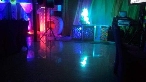 salón de fiesta centro cagua lacei, c. a. full equipado