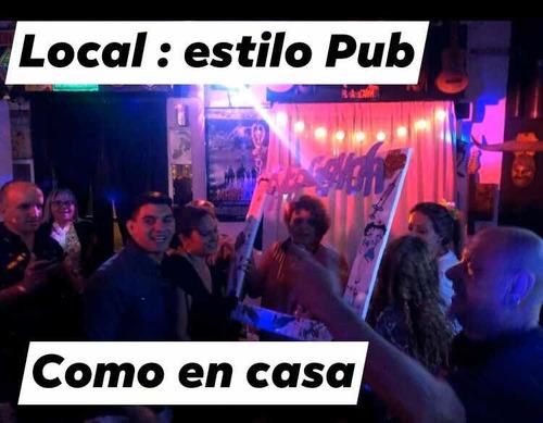 salón de fiestas : estilo pub