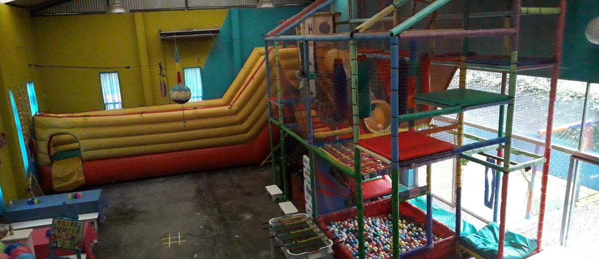 salón de fiestas infantiles.