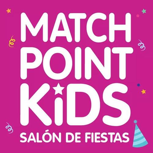 salon de fiestas infantiles match point kids hurlingham