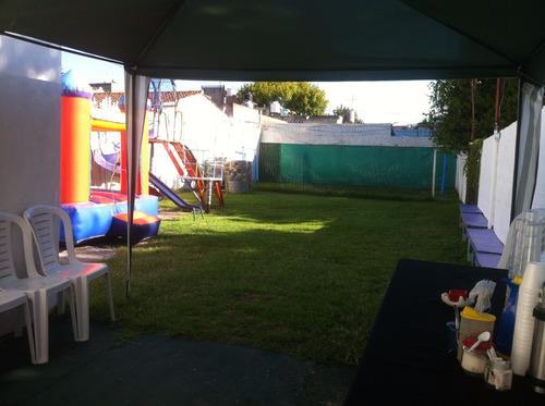 salón de fiestas infantiles/adultos cancha d futbol pelotero