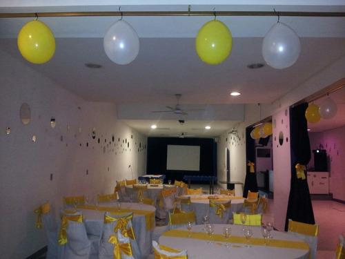 salón de fiestas multieventos en villa del parque