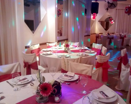 salon de fiestas y eventos - dj - catering - ambientaciones