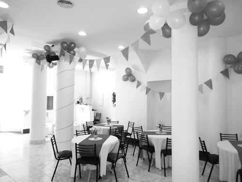salón eventos flores / primer año / bautismo/ comun/ década