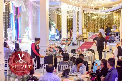 salón fiesta eventos recepciones san luis ate salamanca