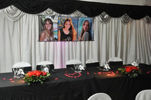 salón fiestas 15 casamientos bautismo flores capital federal