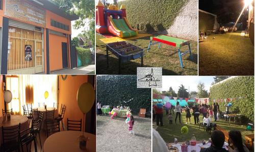 salon fiestas infantiles anubis - bautismos reuniones muñiz