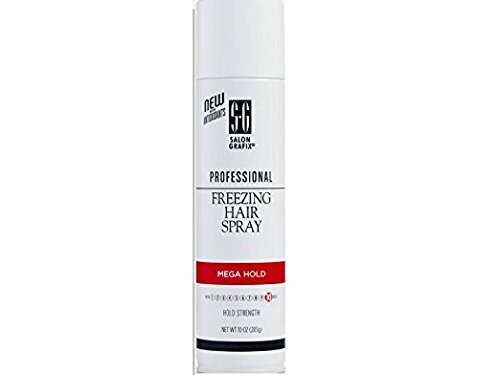salón grafix freezing hair spray mega hold 10 onzas
