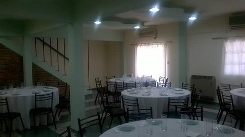 salón gratis!! catering + bebid $300 entr y postre mataderos