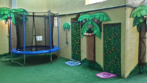 salon infantil  jungla xtreme ....