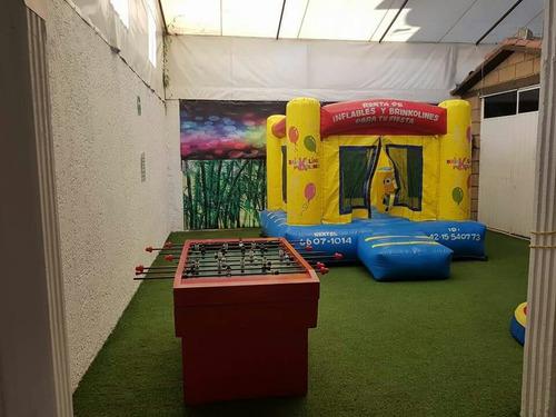 salón jardín party time