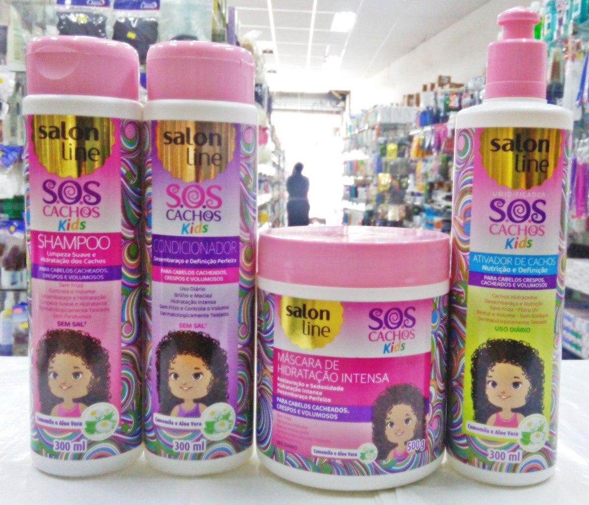 Salon Line Sos Infantil (4 Produtos) - R  59 0b8b4ddcb2fed
