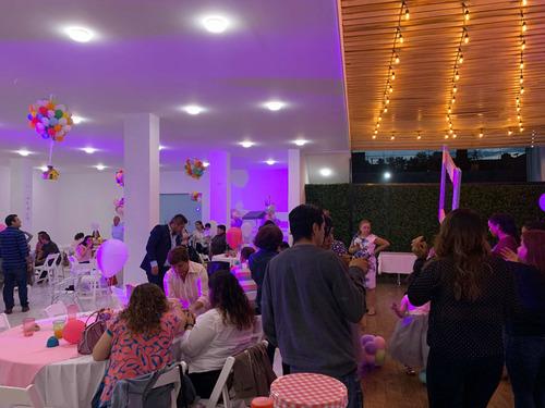 salón para fiestas baby shower, cumpleaños, bodas xv años