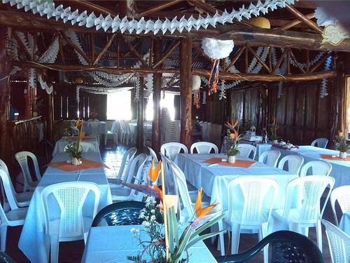 salón rústico para eventos y finca de recreo santa paula