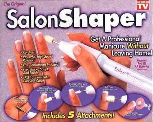 salon shaper limador pulidor uñas profesional como vio en tv