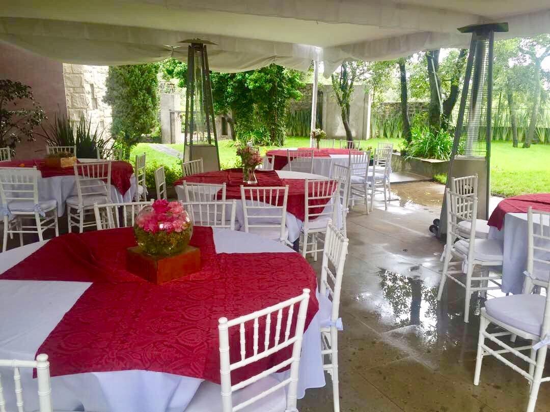 Salon terraza y jard n para eventos hasta 400 personas for Oferta terraza y jardin
