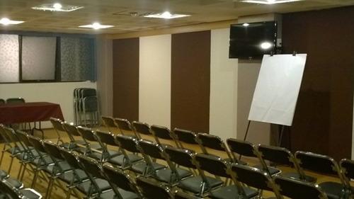 salones para cursos de capacitación y eventos sociales