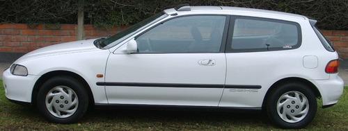salpicadera izquierda honda civic hatchback 1992 - 1995 @