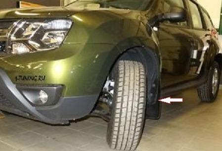 salpicaderas renault duster para camionetas sin ampliaciones
