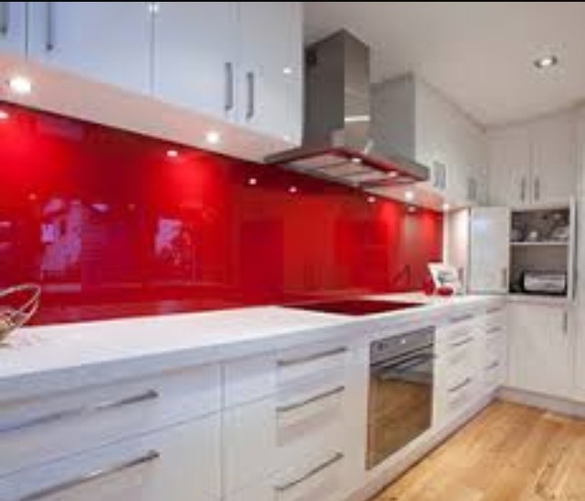 Salpicadero fachadas de vidrio para cocinas bs - Vidrio templado cocina ...