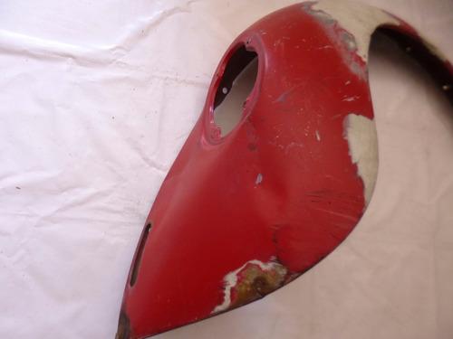 salpicadero tras. der. de sedan 74-04  detalles vocho rojo