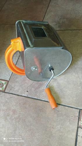 salpicadora de cemento