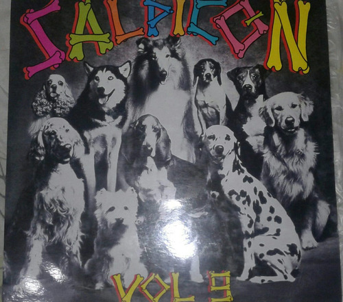 salpicon salsa/merengue  /lp vinilo acetato disco