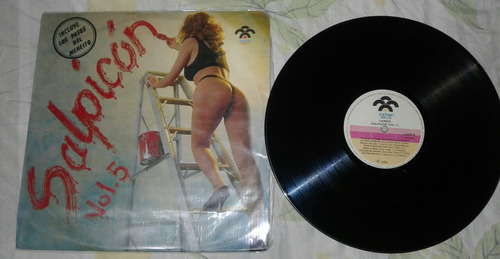salpicon vol 5/ salsa merengue/ lp rodven 1992 colombia