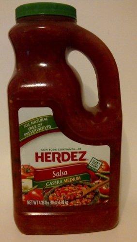 salsa casera medium herdez - libre de conservantes 4.38