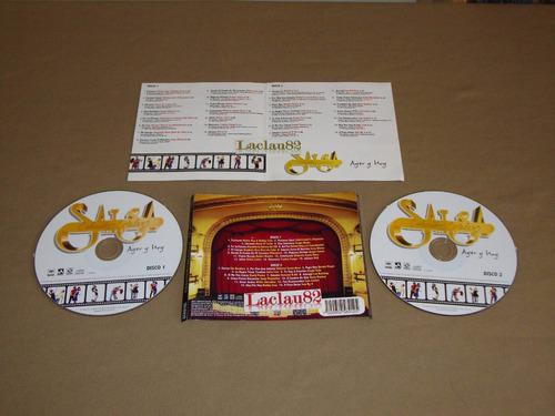 salsa coleccion estelar ayer y hoy 2002 sony cd doble