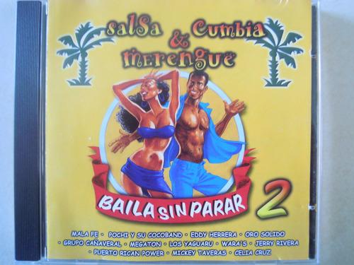salsa cumbia & merengue cd bailar si parar 2