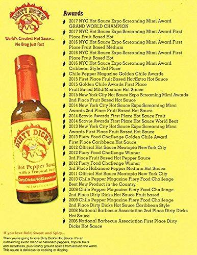 salsa de ají picante con toque tropical dirty dick's hot