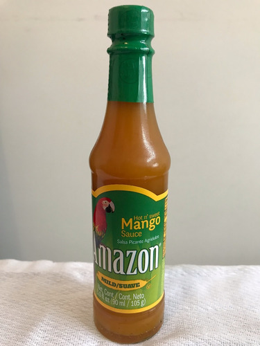 salsa de aji picante suave mango amazon 3.0oz