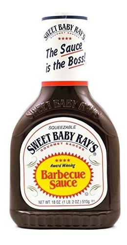 salsa de barbacoa sweet baby ray's bbq