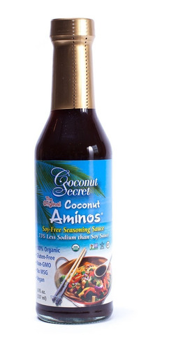 salsa de coco - coconut secret - 231ml