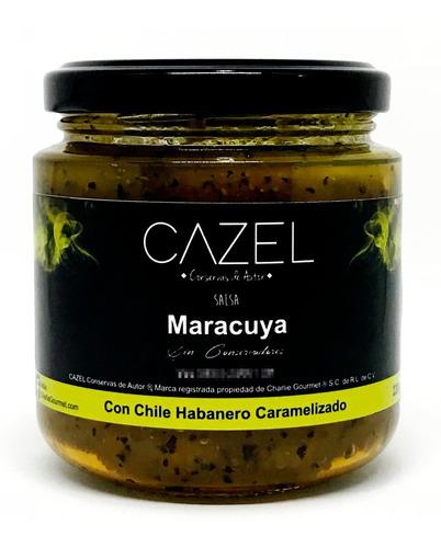 salsa de maracuya con habanero picante 220g