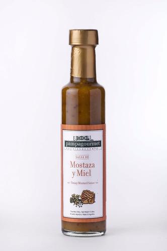 salsa de mostaza y miel - 300cc
