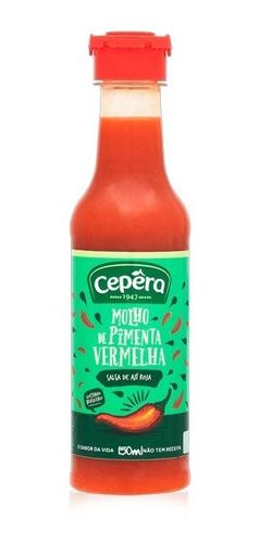 salsa de pimientos rojo - cepera