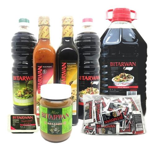 salsa de soja bitarwan tradicional 1 lt